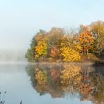 gressard lake at dawn